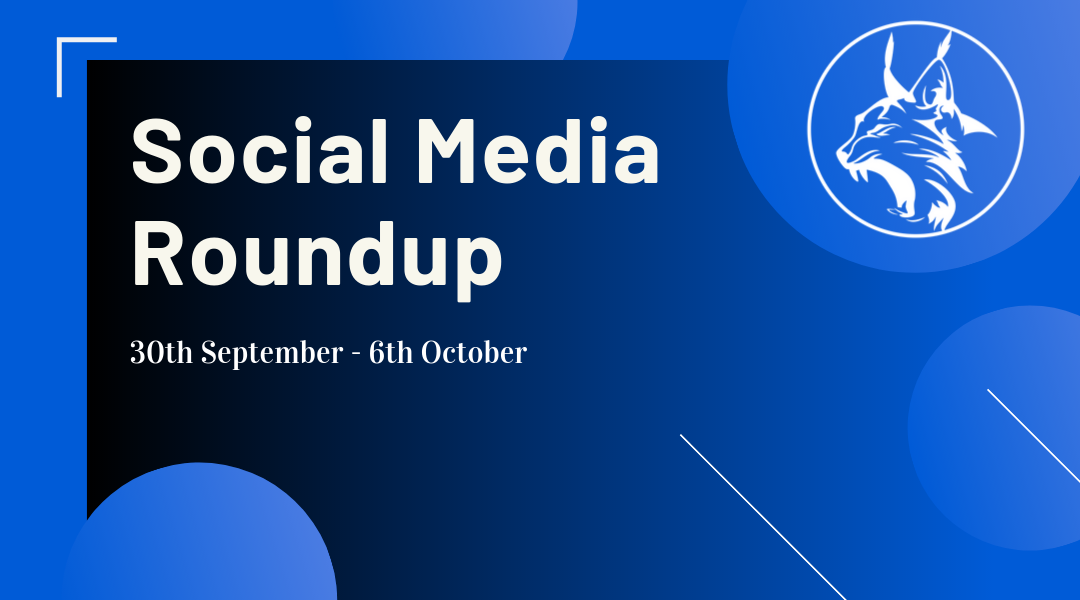 Social Media Roundup 30th September – 6th October