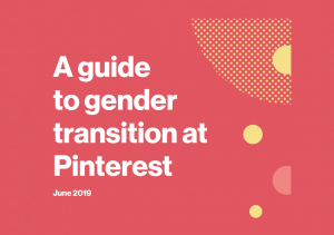 Pinterest Gender Transition Guidelines